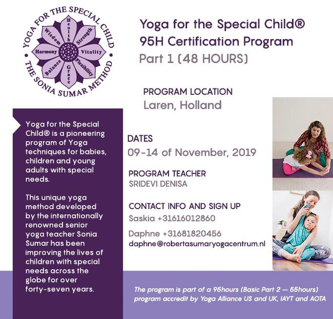 yoga for the special child part 1